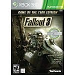 Mass Effect 3 (Xbox 360) $15, Fallout 3: Game of The Year Edition (Xbox 360, PS3, or PC)