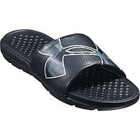 Dicks Sporting Goods Deal: Under Armour Men's Strike Warp Slides (black or white)