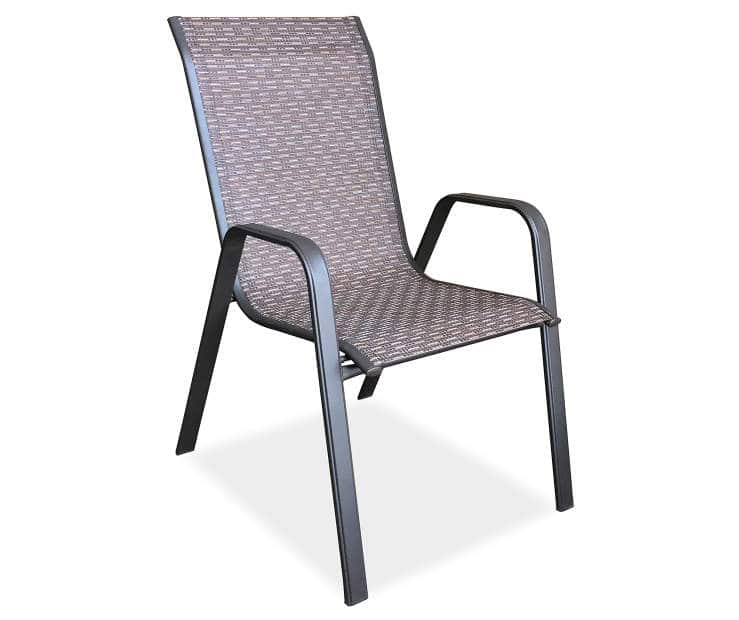 $12 Wilson And Fisher Ashford Brown Sling Patio Chair At Big Lots Bu0026M