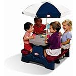 Little Tikes Easy Store Jr. Picnic Table With Umbrella - $23.93 & More  @ Walmart