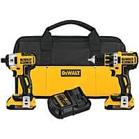 eBay Deal: Factory-Reconditioned Dewalt DCK281D2R 20V MAX XR Cordless Lithium-Ion 1/2 in. Brushless Drill Driver and Impact Driver Combo Kit - $169.99 + FS @ Ebay