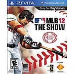 MLB 12: The Show (PS Vita) $3.99 + Free store pick up at Walmart