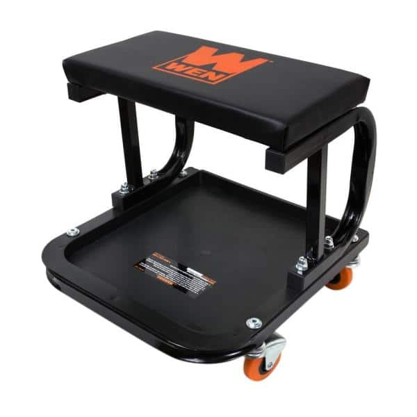 Amazon: WEN 73011 Rolling Mechanic Seat with Onboard Storage (250-Pound Capacity) for $17.98. Free Shipping with Prime or on Orders $25+