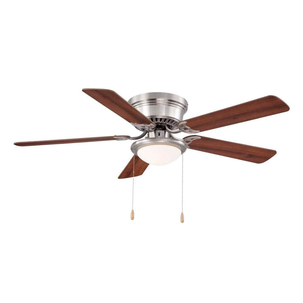 Outdoor ceiling fans amp indoor ceiling fans at the home depot - Brushed Nickel Ceiling Fan Homedepot For 36 Free Shipping