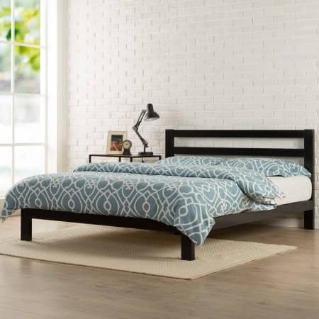 Spectacular Zinus Platform H Metal Bed Frame w Headboard Queen Slickdeals net