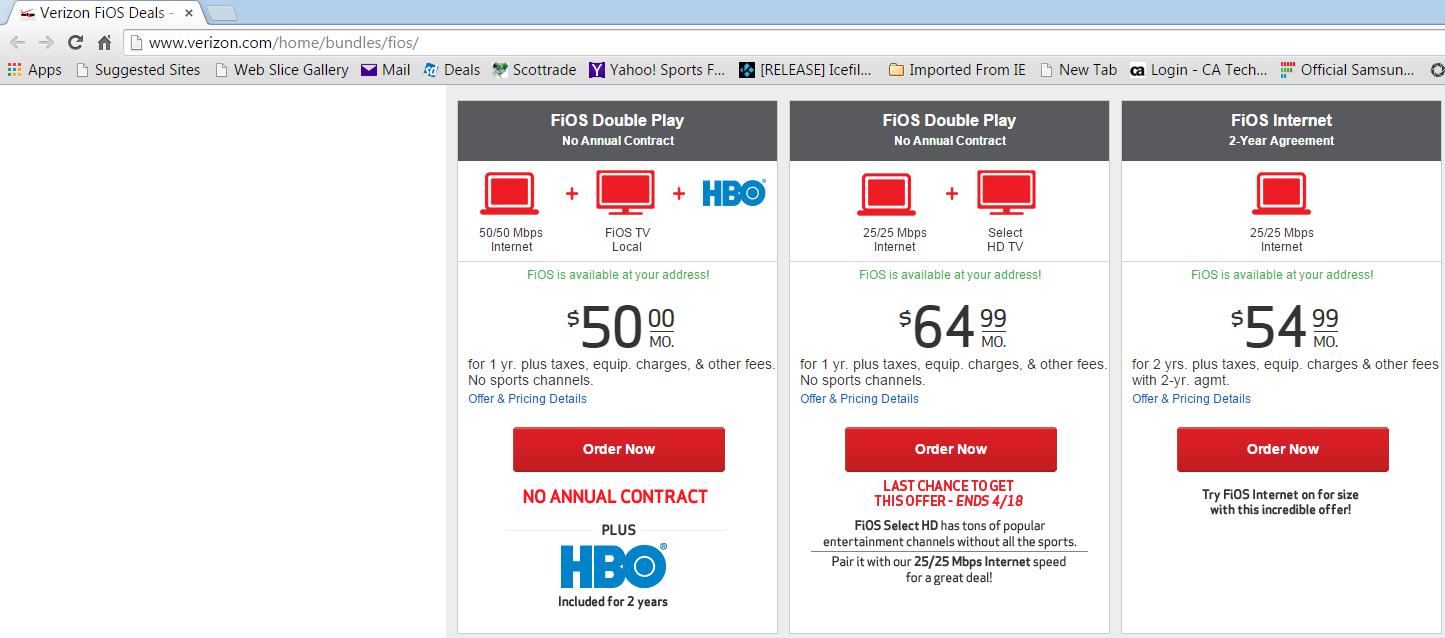 Best internet tv service deals