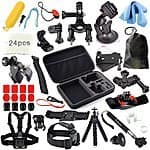Erligpowht Accessories Bundle kit for GoPro Hero 4 3(the most comprehensive set of gopro accessories by far) $37.99 AC