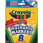 Staples B&M Back to School Sale Week of 8/2 - 8/8  - .75 Crayola Washable Markers, Bic Xtra Fun Pencils, BIC Soft Feel Retractable Pens, more...