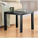 End Table, Black ONLY, $10 @ Walmart ($8 @ IKEA)