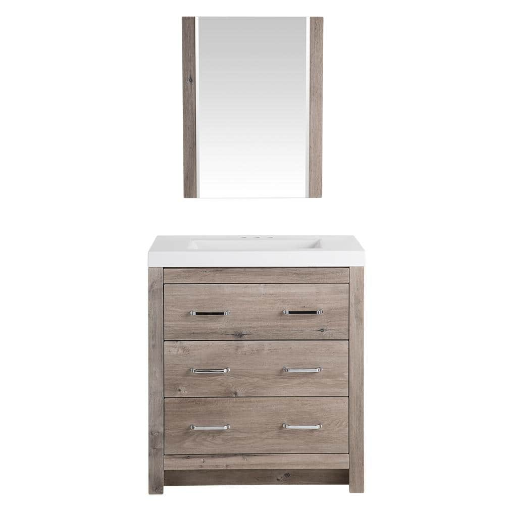Ideal Home Depot Sink Vanity u Mirror Sets From