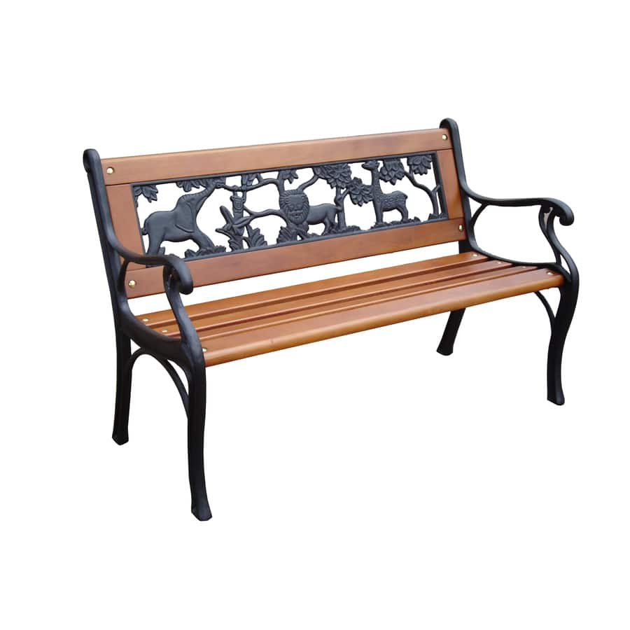 Lovely Garden Treasures Kids Patio Bench L x W x H Slickdeals net