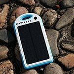 Levin 5000mAh 2.1A Rain-resistant Solar Portable Charger with Bluetooth Self-timer & LED Flashlight $16.79 w/ code FSSS Amazon