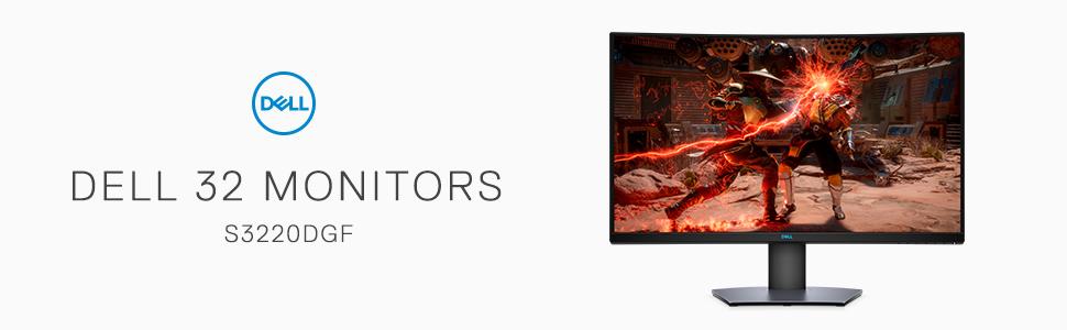 Best Buy: 32″ Dell S3220DGF 2560×1440 QHD VA Curved FreeSync Monitor w/ HDR @ 0.00 + Free Shipping.
