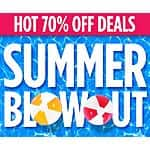 Michaels Summer Blow-out 70% off