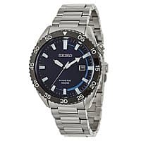 Blingdaily Deal: Seiko SKA623 Men's Core Collection Kinetic Power Blue Dial Stainless Steel Watch $84.97 f/s