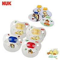 Shnoop Deal: 4-Pack Nuk Gerber BPA Free Orthodontic Pacifiers w/ Clips (Size 2)