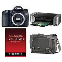 Adorama Deal: Canon 70D DSLR Camera Body + PRO-100 Printer Bundle & More