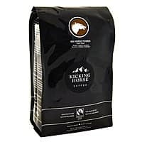 Amazon Deal: 2.2-lbs. Kicking Horse Whole Bean Dark Roast Coffee (454 Horse Power)