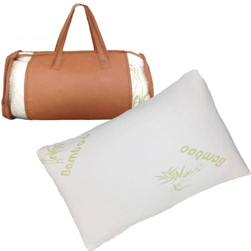 Bamboo Memory Foam Hypoallergenic Pillow (King or Queen)  $20 + Free Shipping