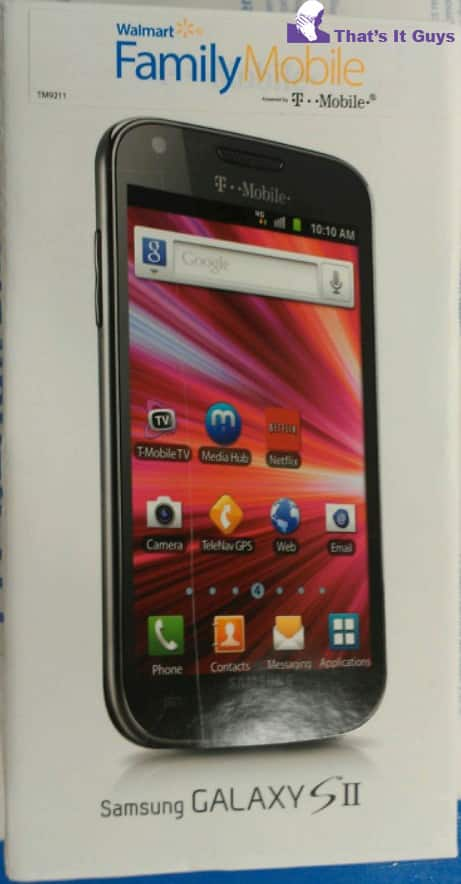 T-Mobile Galaxy S II No Contract for $299 @ Walmart & Walmart.com