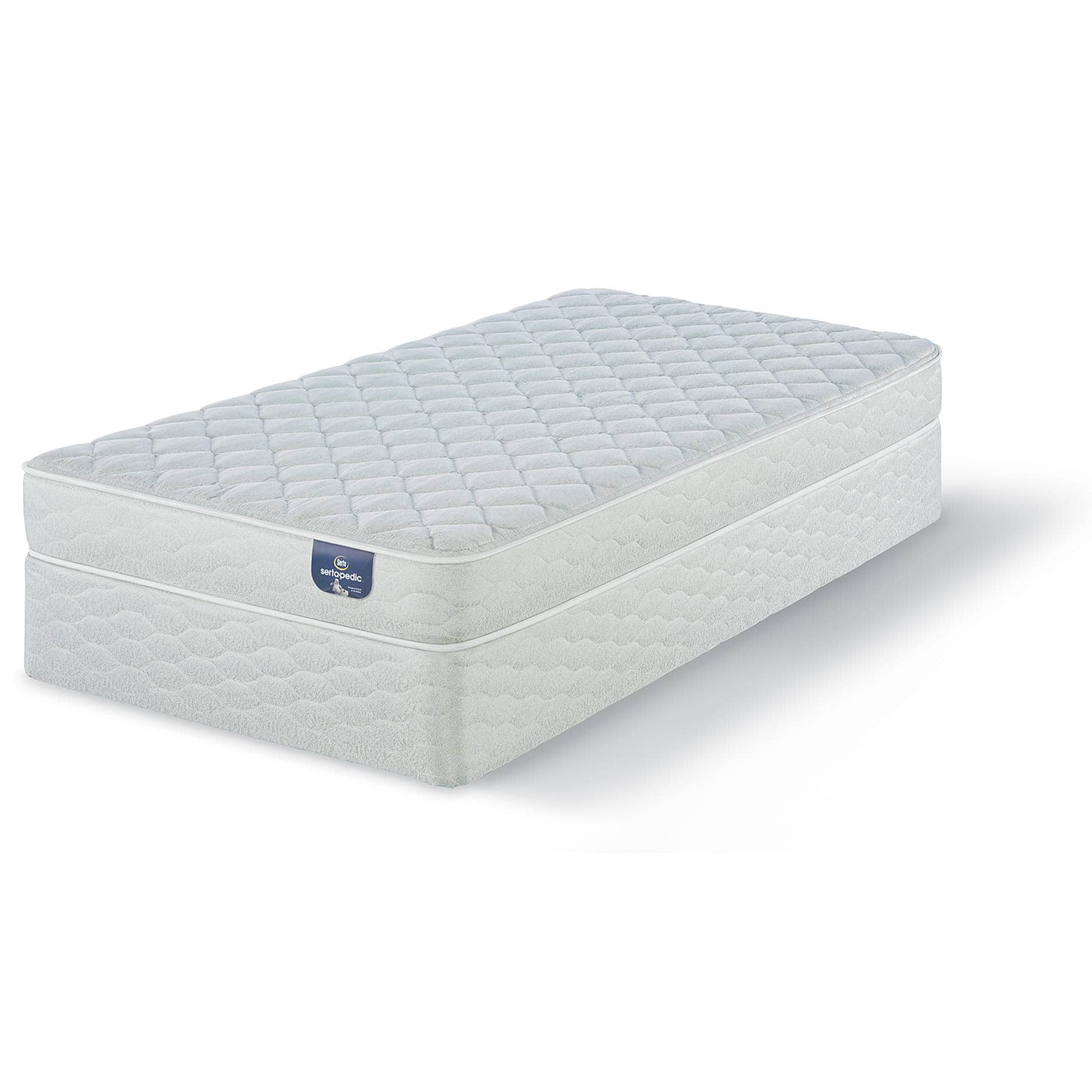 Ideal Serta Sertapedic Chiswick Firm Queen Mattress Bonus Box Spring Slickdeals net