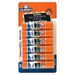 Elmer's Washable Disappearing Purple Glue Sticks, 0.21 Ounce Each, 6 Packs, $0.99