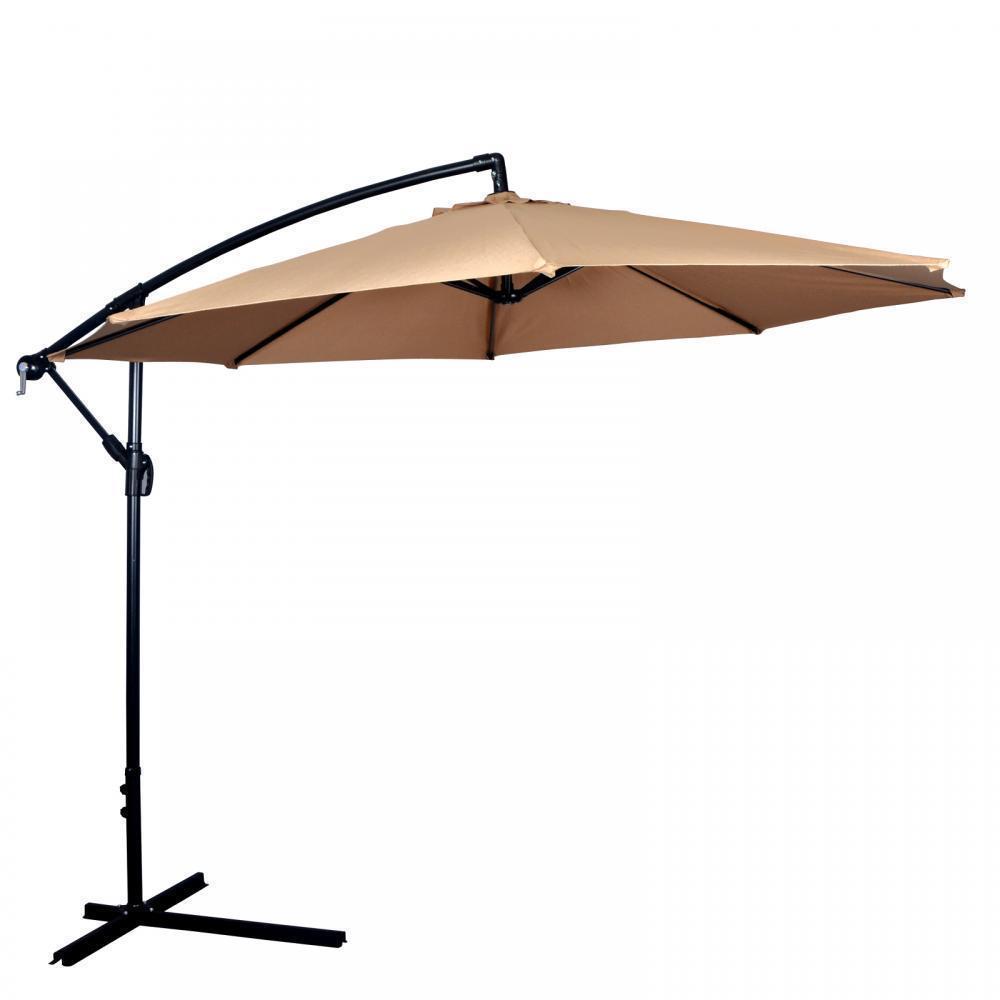 New 10u0027 Patio Umbrella Offset Hanging Umbrella 39.99 Shipped   Slickdeals. Net