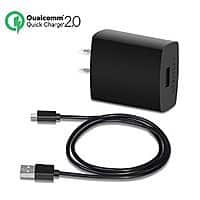 Amazon Deal: CHOETECH Quick Charge 2.0 18W USB Wall Charger + 3.3 Ft. MicroUSB Cable for $8.69 AC @Amazon
