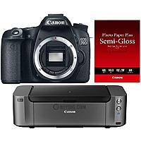 BuyDig Deal: Canon DSLR Sale + Pro-10 Printer: 6D Body $1249, 70D Body