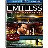Amazon Deal: Limitless (Unrated Extended Cut Blu-ray + Digital)