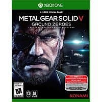 Xbox Live Market Place Deal: Digital Games: Metal Gear Solid V: Ground Zeroes (Xbox One)