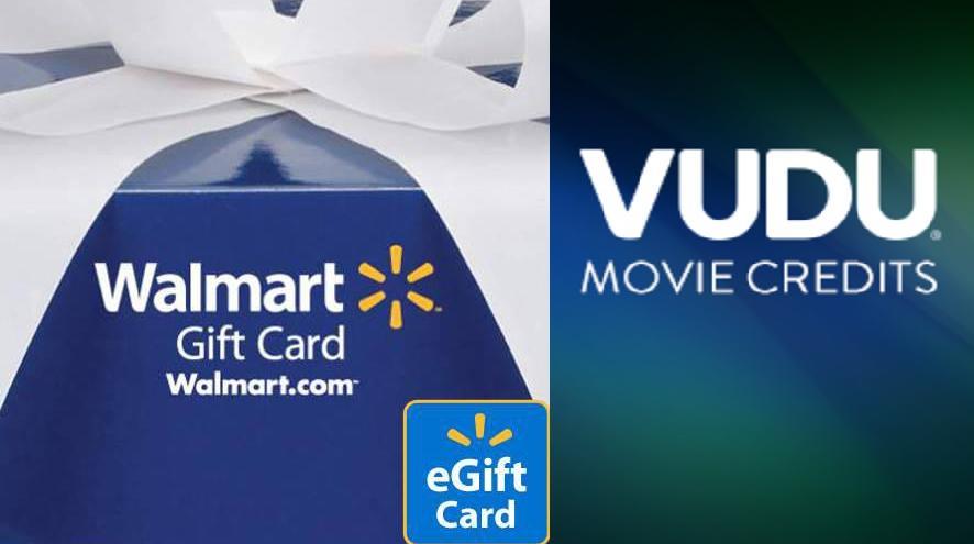 Walmart eGift Card + VUDU Credit Offer: $100 eGift Card + $10 ...