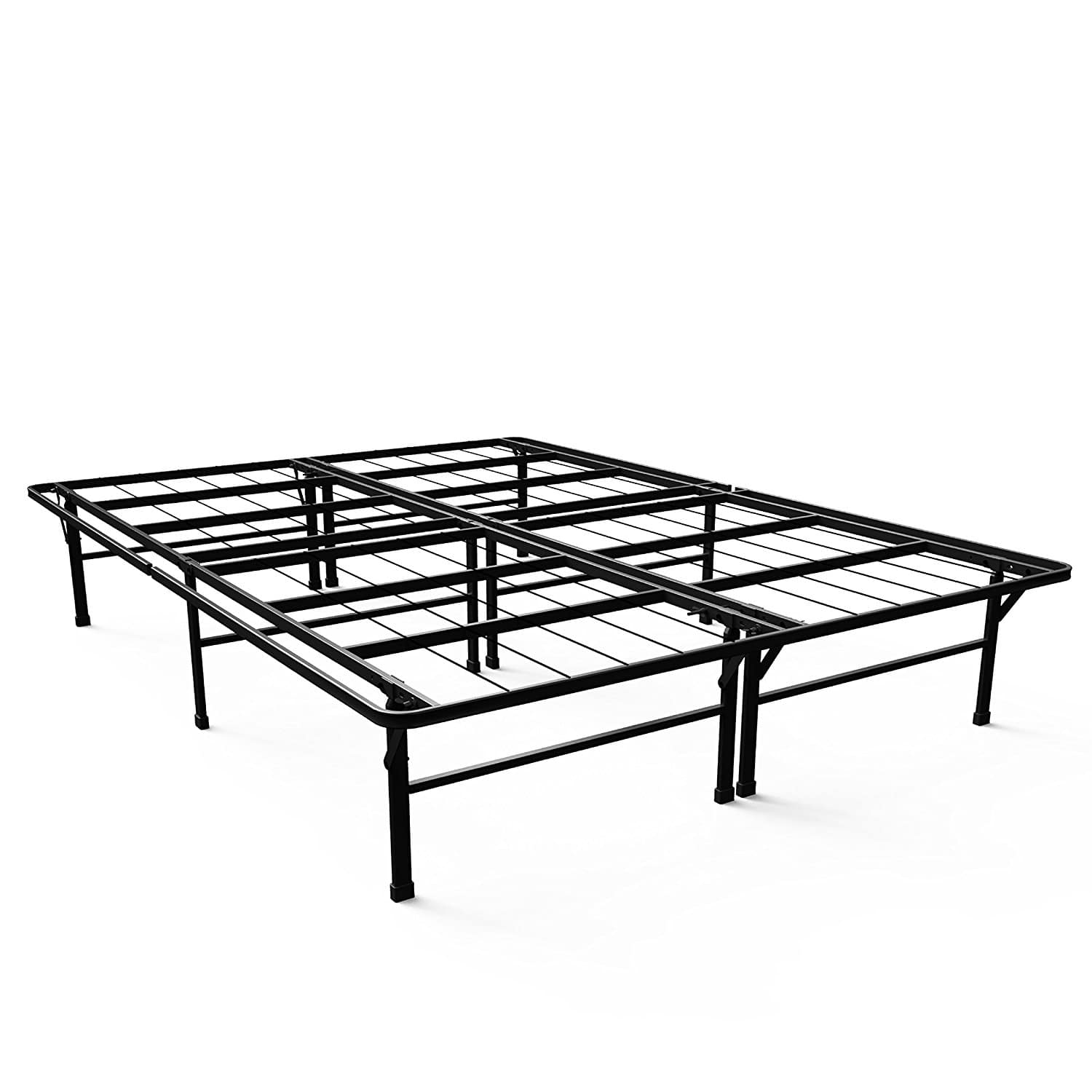 Unique Zinus SmartBase Deluxe Platform Bed Frame Queen Full Slickdeals net