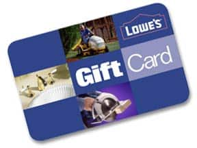 $100 Lowe's Gift Card (Email Delivery) - Slickdeals.net