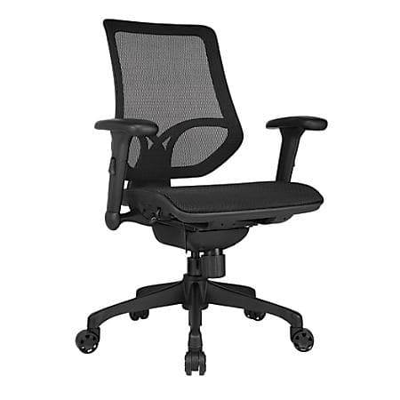 Unique Office Chairs Sale WorkPro Series Mid Back Mesh Task Chair Slickdeals net