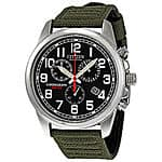 Citizen Men's AT0200-05E Eco-Drive Stainless Steel Watch with Canvas Band $114.99 via Ebay