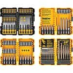Lowes Drill bit sets, considerable markdowns - Dewalt & Kobalt great ratings YMMV