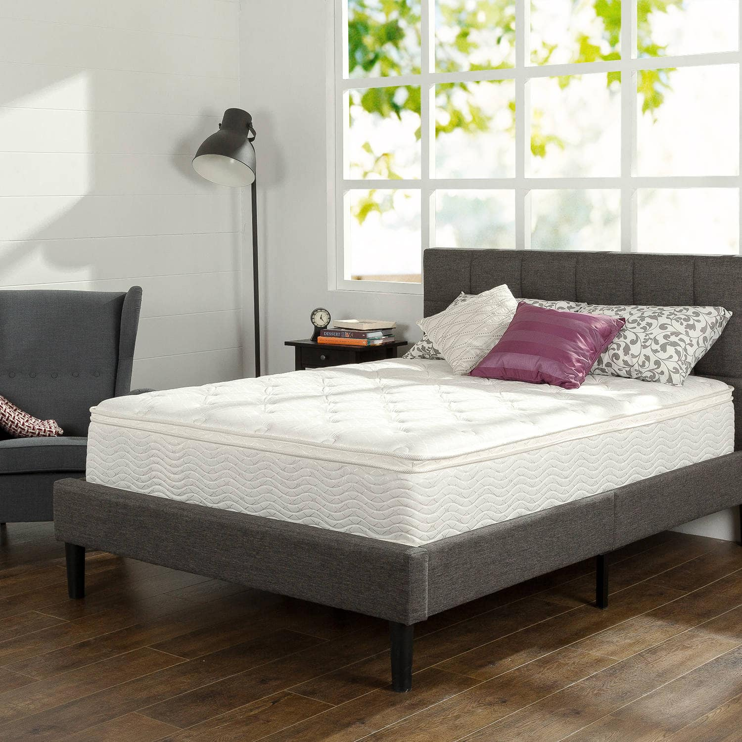 Unique Slumber Comfort Euro Box Top Spring Mattress various sizes Slickdeals net