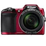 Nikon COOLPIX L840 16MP 38x Opt Zoom Digital Camera Manufacturer Refurbished $149 + Free Shipping!