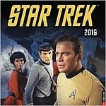 Star Trek Original Series 2016 Wall Calendar 7.68 & tax with Prime