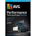 AVG Performance 2015-Unlimited/ 2Yrs Free after $30MIR FAR @Frys