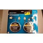 2 Pack 6 Foot Super Slim HDMI Cables $4.90 Home Depot B&M YMMV