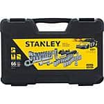 66-Piece Stanley Mechanics Tool Set  $15 with free store pickup