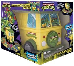 Teenage Mutant Ninja Turtles Complete Classic Series on DVD with turtle van case $49.99 B&N