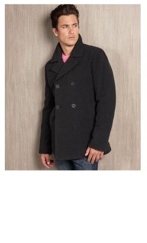 Men's Coats & Jackets Sale + Extra 50% off + 25% off $100+: Guess Faux-Leather Hooded Bomber Jacket Coat $37.50, Nautica Wool-Blend Car Coat $50, Guess Wool-Blend Plush Pea Coat $3