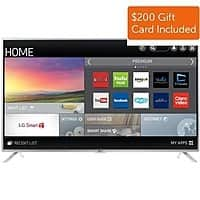 "Dell Home & Office Deal: 55"" LG 55LF6100 1080p Smart LED HDTV (2015 Model) + $200 Dell eGift Card  $699.99 with free shipping"