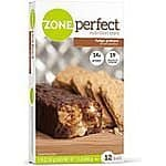 Zone Perfect Nutrition Bar, Fudge Graham, 1.76 Ounce, 12 Count as low as $5.25 + free shipping