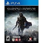 Middle Earth: Shadow of Mordor (PlayStation 4) $18.99 @ Target
