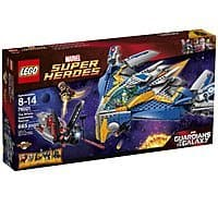 Amazon Deal: LEGO Superheroes The Milano Spaceship Rescue Building Set