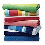 Essential Home Beach Towel Cotton 30x60 $3.99 @ KMart